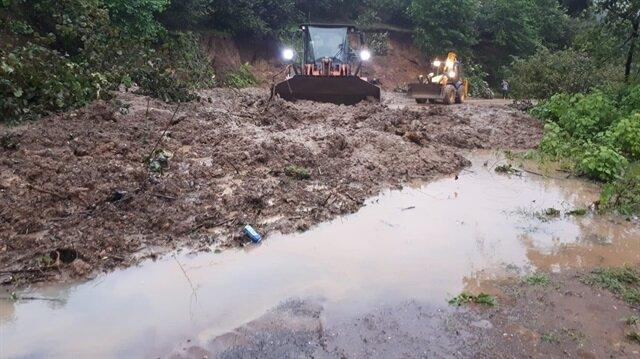 Tarım ve Orman Bakanı Bekir Pakdemirli Ordu'daki selde 700 ton fındığın zarar gördüğünü açıkladı.