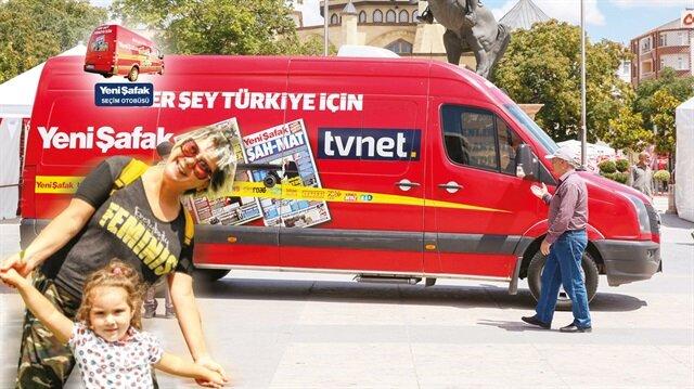 Yeni Şafak ve tvnet'in otobüsü bu kez belediyelerin nabzını tutmak için yollara düştü. İlk durağımız Kırşehir.