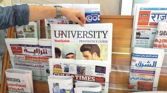 Yeni Şafak üniversite Eki Körfez'deki müşteriyle buluştu