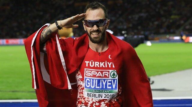 Guliyev 200 metrede altın madalyanın sahibi oldu.