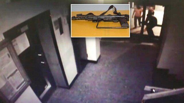 Hırsızlık operasyonunda otomatik silah ele geçirildi