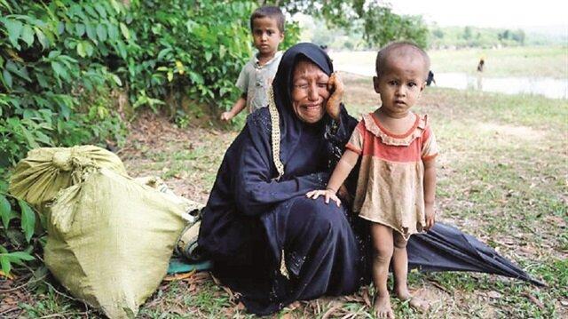 Myammar'ın Arakan bölgesinin kuzeyinde yaşayan Müslümanlar'ın insani yardımlardan yararlanamadığı ortaya çıktı.