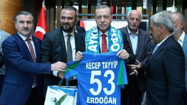 Cumhurbaşkanı Recep Tayyip Erdoğan (Arşiv)