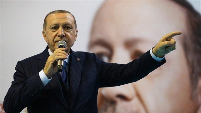 Başkan Erdoğan, Rize'deki toplantıda önemli açıklamalarda bulundu.