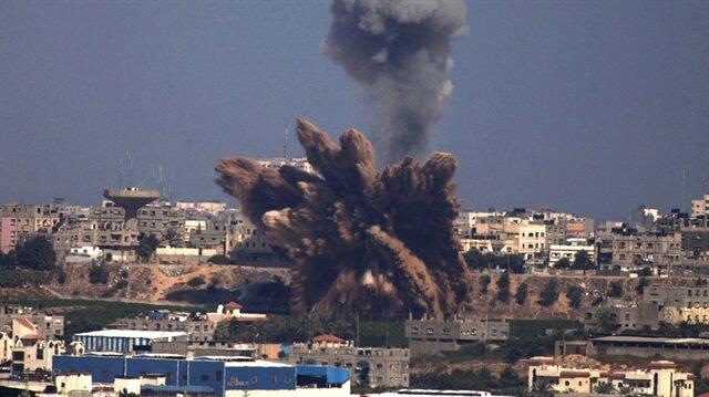 İsrail'den Gazze'ye hava saldırısı: Bir yaralı