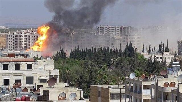 İdlib'te patlama: 37 ölü