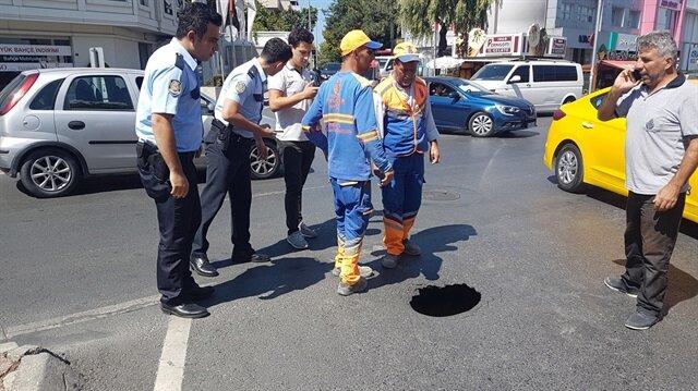 Polis ekipleri çevrede önlem aldı.