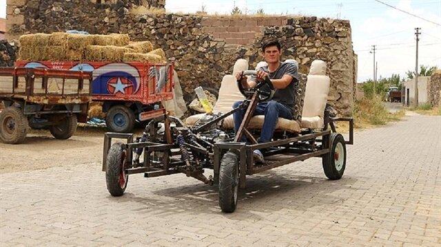 Özdemir, piyasadaki arabaları sevmediği için kendi aracını üretmeye karar verdi.