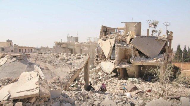 İdlib'ebombayağıyor