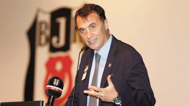Beşiktaş Başkanı Fikret Orman,