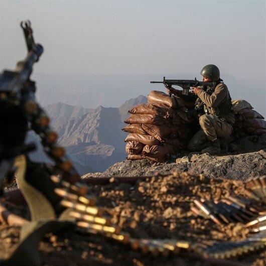 PKK operasyonunda ABD silahları ele geçirildi