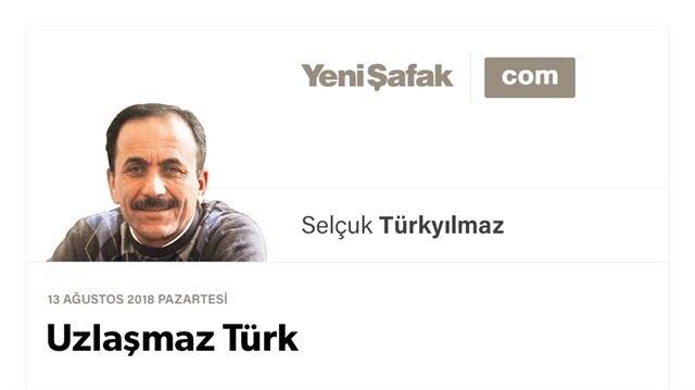 Uzlaşmaz Türk