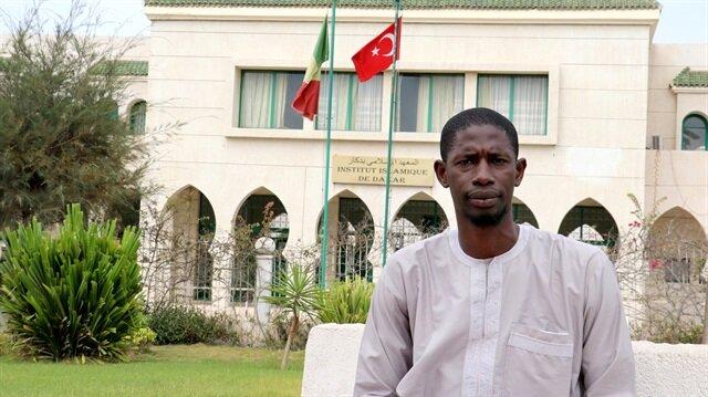 Kampanyaya katılanlardan Muhammed Yusuf, Türkiye'ye destek mesajı verdi.