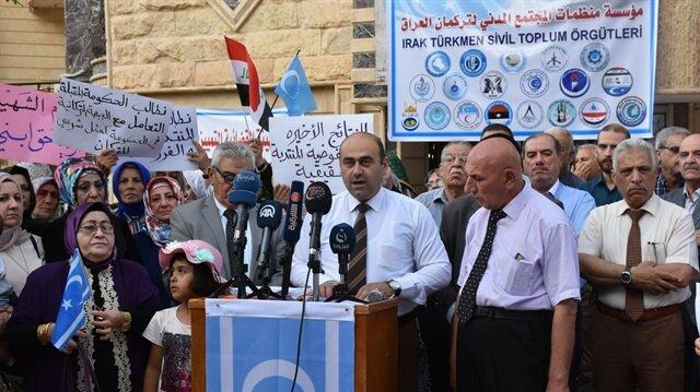 Kerkük'teki Türkmenlerden 'elle oy sayımı sonuçlarına' tepki