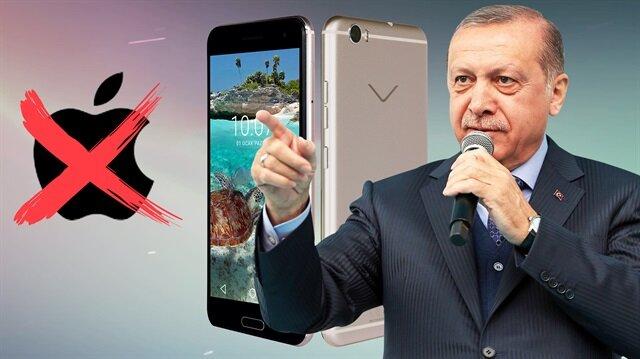 Cumhurbaşkanı Erdoğan'ın önerdiği akıllı telefon: Vestel Venüs