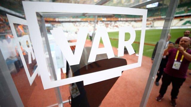 Süper Lig'in ilk haftasına 'VAR' damga vurdu