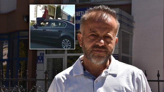 Konya'daki sürücünün görüntüleri sosyal medyada kısa zamanda yayılmış ve büyük tepki görmüştü.