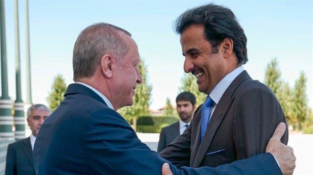 Al Sani'den Başkan Erdoğan paylaşımı