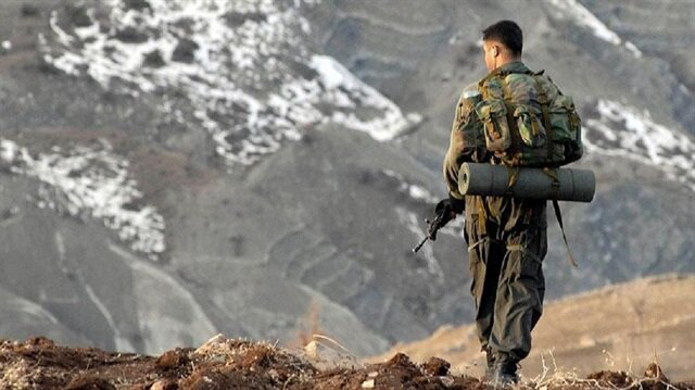 إصابة عسكري تركي بجروح في هجوم إرهابي لمنظمة