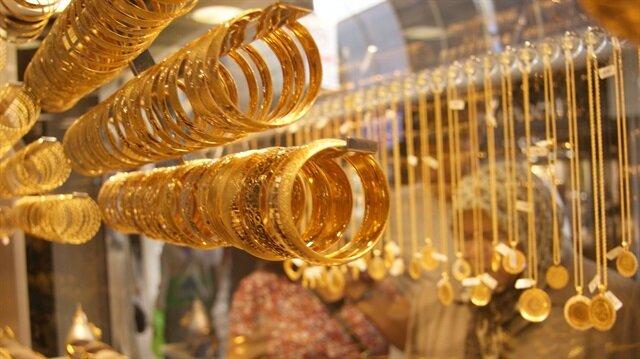 Gram altın yüzde 4 düştü