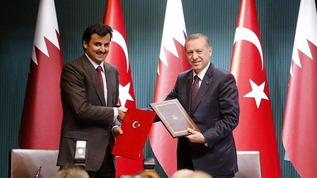 أمير قطر يجري زيارة عمل لتركيا