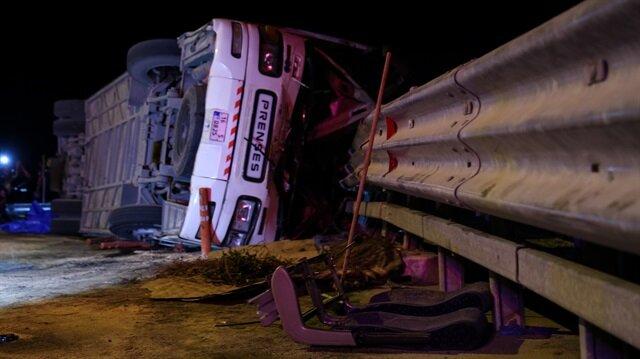Kaza yapan şoför: Otobüsü bilerek devirdim