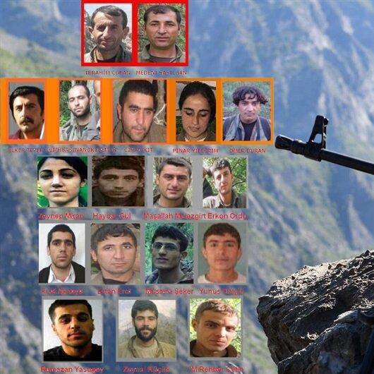 14 milyon TL ödüllü 84 terörist öldürüldü