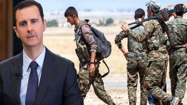 تراجع النظام السوري عن موقفه بمنح الإدارة الذاتية لتنظيم ال ي ب ك الإرهابي