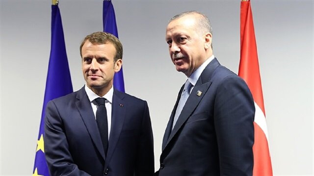 أردوغان يجري اتصالا هاتفيا مع نظيره الفرنسي
