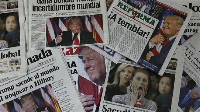 ترامب خطر على الديمقراطية بإجماع 350 صحيفة أمريكية