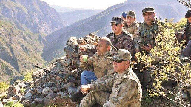 Tunceli'deterörünbeli kırıldı