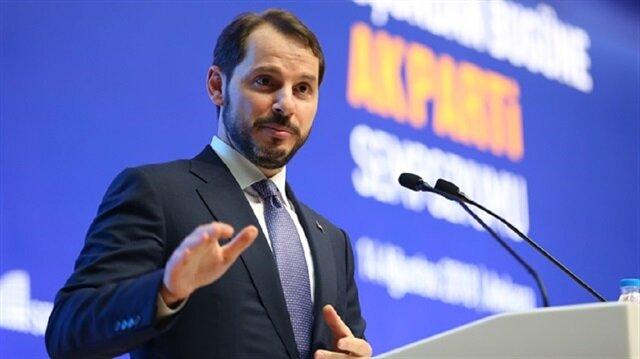 البيرق، وزير الخزانة والمالية التركي
