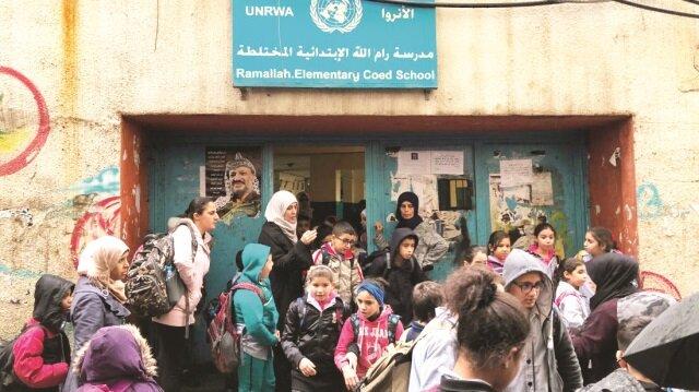 Filistinli çocuklara ABD darbesi