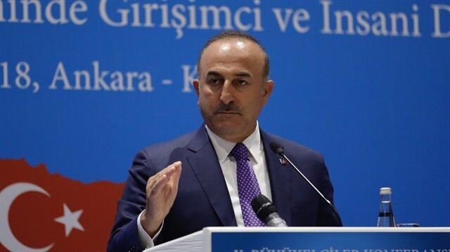 جاويش أوغلو: تركيا منفتحة لمحادثات مع واشنطن خالية من لغة التهديد