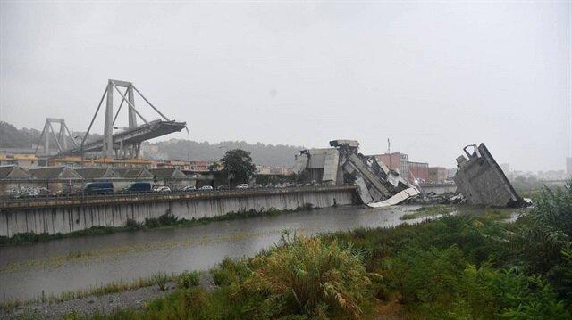 جاويش أوغلو يعزي نظيره الإيطالي في ضحايا انهيار الجسر