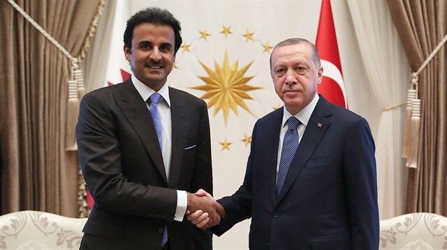 أردوغان يشكر قطر أميرًا وشعبًا لوقوفهما إلى جانب تركيا