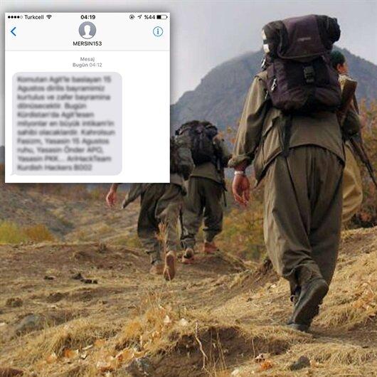 'Mersin153' adıyla SMS'li terör propagandasına soruşturma
