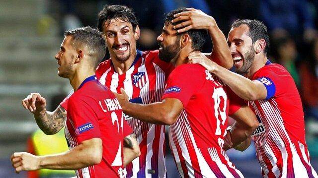 Atletico Madrid, Real Madrid'i 4-2 mağlup ederek Süper Kupa'nın sahibi oldu.