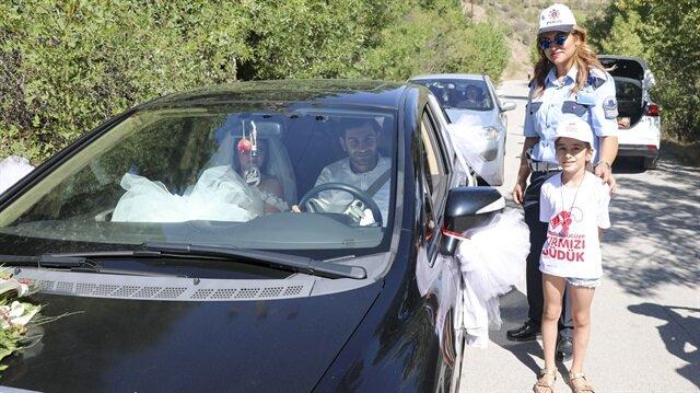 Hatalı sürücüleri çocuklar uyaracak