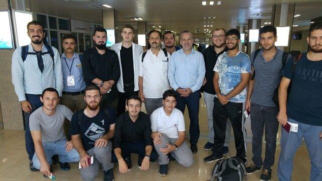 """متطوعو """"تيكا"""" يعودون لتركيا عقب إتمام برنامجهم في تشاد"""