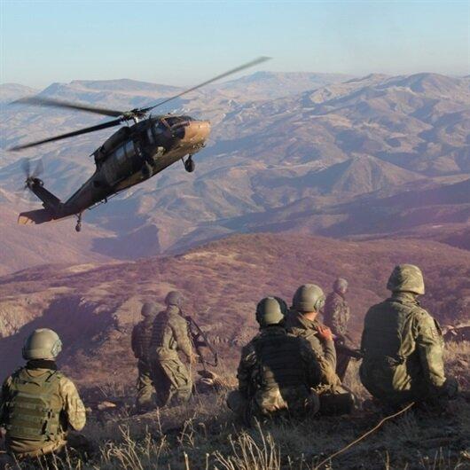 Siirt'te 4 PKK'lı terörist etkisiz hale getirildi