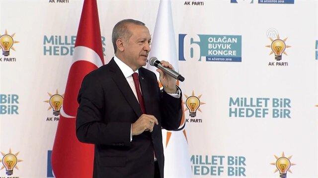 Cumhurbaşkanı Erdoğan: Oyununuzu gördük meydan okuyoruz!