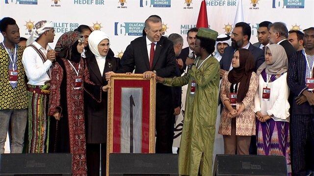 Çad'lı öğrenciden Erdoğan'ı duygulandıran konuşma