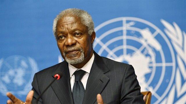 وفاة كوفي عنان أمين عام الأمم المتحدة الأسبق عن 80 عاماً