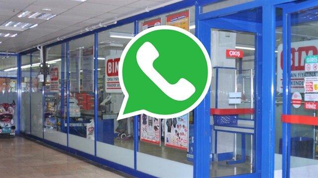 WhatsApp'tan gelen BİM mesajına dikkat!