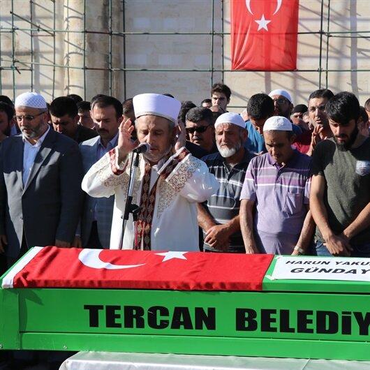 Erzincan'da acı gün