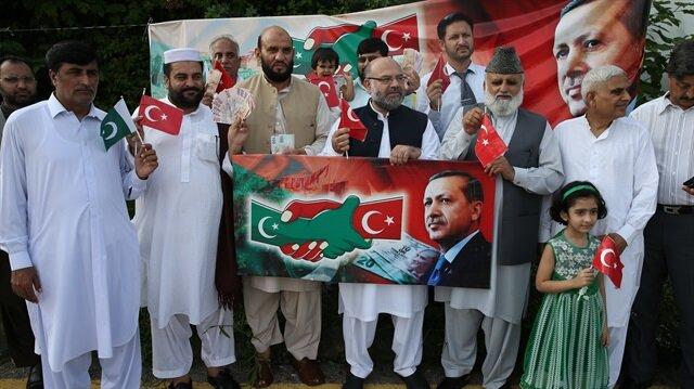 Pakistan'dan Türk lirasına büyük destek