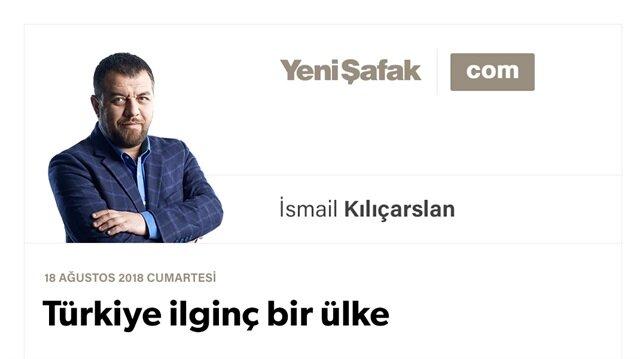 Türkiye ilginç bir ülke