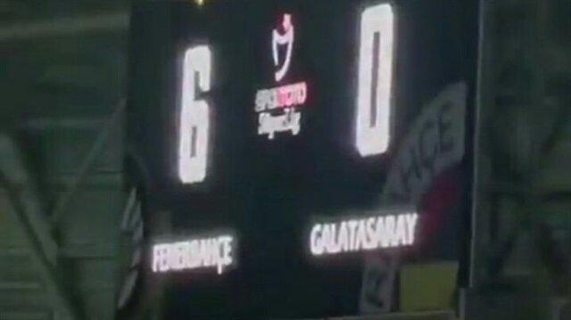 Yeni Malatya-Fenerbahçe maçı öncesinde skorboard krizi
