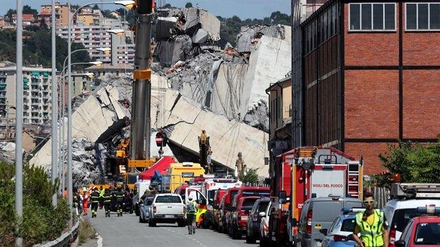 New car found in rubble of collapsed Genoa bridge